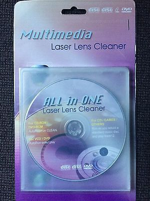 All in One Laser Lens Cleaner