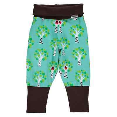 Birch tree print organic cotton baggy trousers by Maxomorra