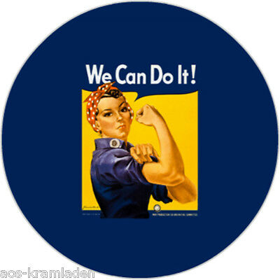 Button 25mm - We Can Do It!