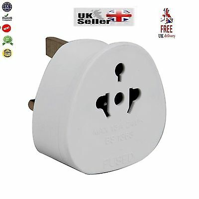 3Pin Universal Plug Travel Adaptor To UK-USA AUS AU US To UK New Visitor Adaptor
