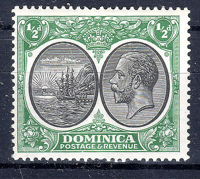 Dominica 1/2d 1923-33 mounted mint SG 71