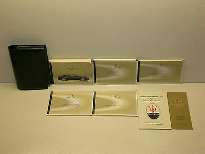 2003 Maserati Coupe Owners Manual with Case