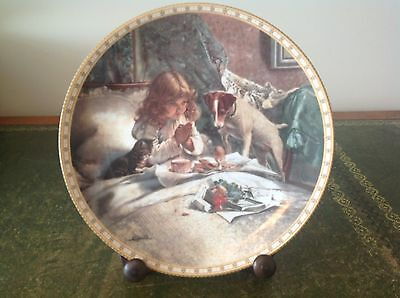 """Royal Doulton """"victorian Childhood - Breakfast In Bed"""" Collectors Plate"""