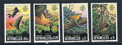 Seychelles 1981 Flying Fox SG 518/21 MNH