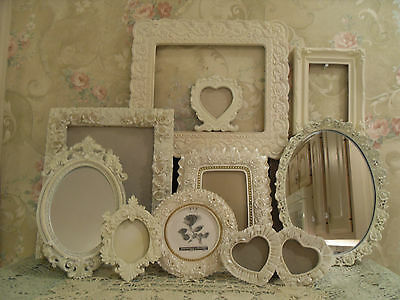 Ornate Open Picture Frames   Vintage Style~Wedding~Roses Romantic  Lot 10