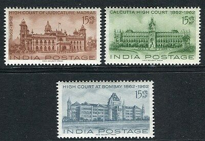 INDIA;   1962 High Court issue fine Mint MNH Unmounted SET
