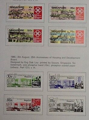 Singapore 1986 Used Sets Peoples Association/ Housing