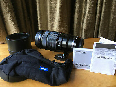 OLYMPUS M.Zuiko Digital ED 40-150mm f/2.8 PRO 3 MONTHS OLD UNUSED + UK RECEIPT