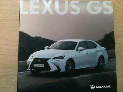 Lexus Gs Brochure February 2016 47 Pages