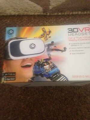 3D VR Headset  Brand new In Box Global Gizmos Make