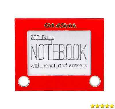 Paladone Toy Box Etch-A-Sketch Notebook New