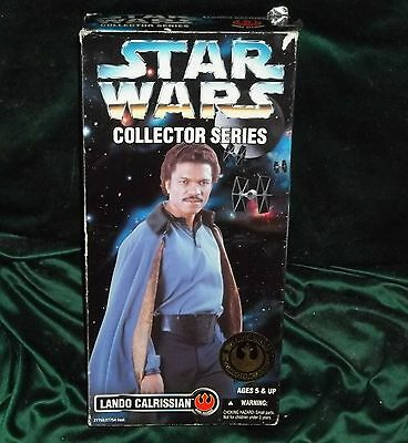 "Star Wars Potf Collector Series 12"" 1/6 Scale Bespin Lando Calrissian Figure"