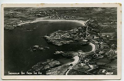 ANGLESEY, TREARDDUR BAY, Aerial Real Photo c1950 posted 1952, by AIRVIEW Ltd.