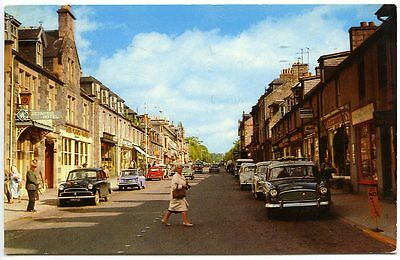 GRANTOWN-ON-SPEY, 1960s Postcard, Posted August 1969