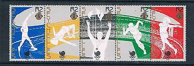 Seychelles 1988 Olympic Games 5v strip SG 692a MNH