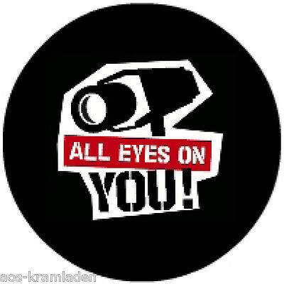 Button 25mm - All Eyes on You !
