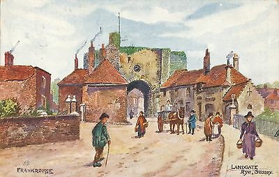 POSTCARD  SUSSEX   RYE  Landgate         Tuck