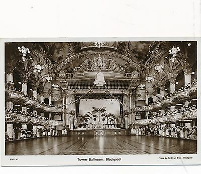POSTCARD   BLACKPOOL    Tower  Ballroom