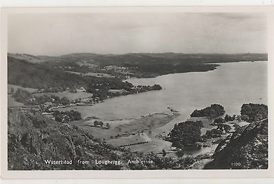 POSTCARD  AMBLESIDE   Waterhead from  Loughrigg