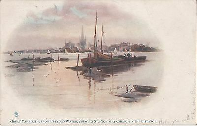 POSTCARD  GREAT YARMOUTH      Tuck