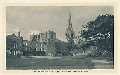 POSTCARD  SUSSEX   CHICHESTER  Cathedral        Tuck
