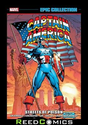 CAPTAIN AMERICA EPIC COLLECTION STREETS OF POISON GRAPHIC NOVEL (512 Pages)