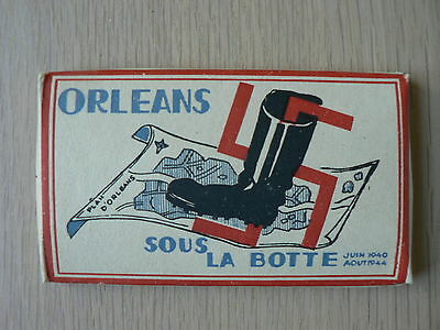 Orleans Sous La Botte-Lot De 24 Photos-Militaire-Militaria-Armee-Ww2