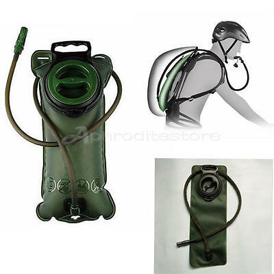 3L Hydration System Water Bag Pouch Backpack Bladder fr Hiking Climbing Survival