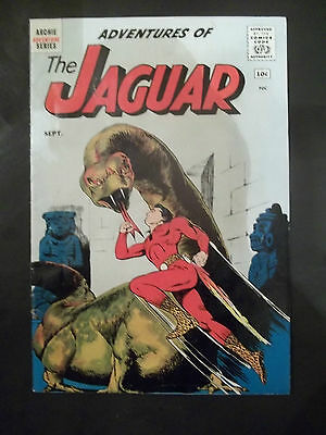 Adventures Of The Jaguar   # 1         (1961)   Comics