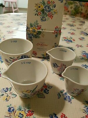 Cath Kidston Brand New Highgate Rose Mesauring Cups