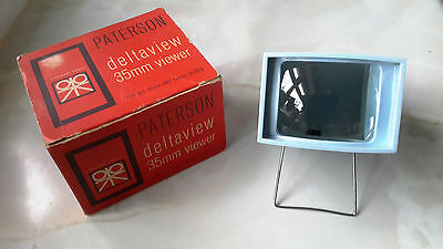 Paterson Deltaview 35mm Slide Viewer (Boxed)