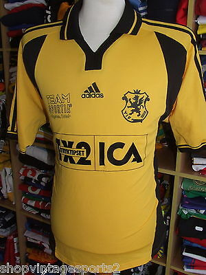 Trikot Ystads IF (XL) Adidas Equipment Shirt Jersey Schweden Sweden Matchworn