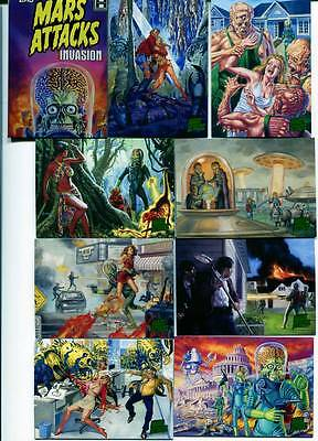 Topps Mars Attacks Invasion 95 Card Set Plus Wrapper Plus 4 card Join The Fight