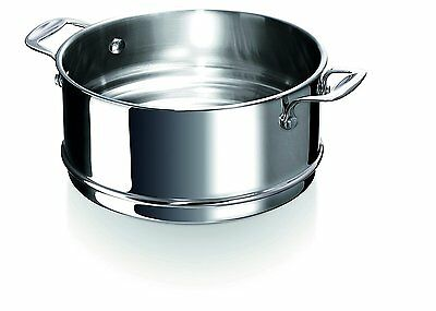 Beka Chef Steamer Insert for Casseroles and Stockpots, Stainless Steel,...