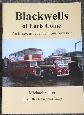 Bus/Coach Interest Blackwells of Earls Colne Author  Michael Yelton Paperback