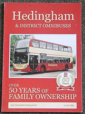 Bus/Coach Interest  Hedingham & District Omnibuses 50 years of Family Ownership