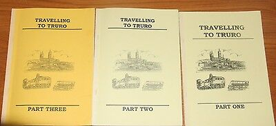 3 Books  Coach /Bus Interest Travelling to Truro 1870's -1960's by Roger Grimley