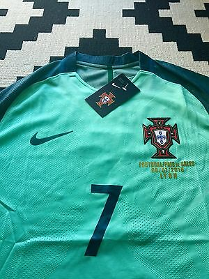Maillot Portugal Ronaldo Demi Finale Euro Neuf Player Version Taille S,M Ou L
