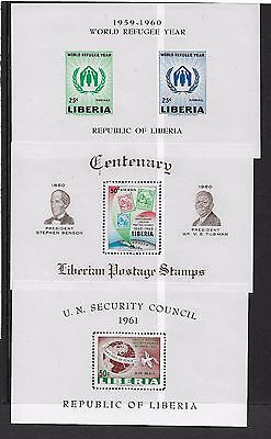 Liberia 1960 World Refugee Year U.n. Security Centenary