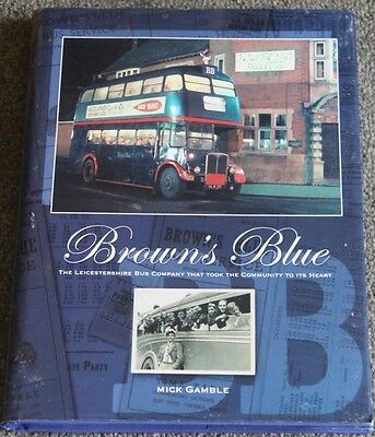 Bus/Coach Interest,Browns Blue,The Leicestershire Bus Company. Mick Gamblerd