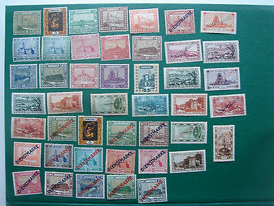 Timbres ALLEMAGNE - SARRE