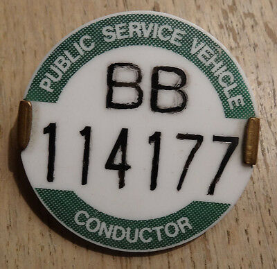 PSV Conductor's Badge