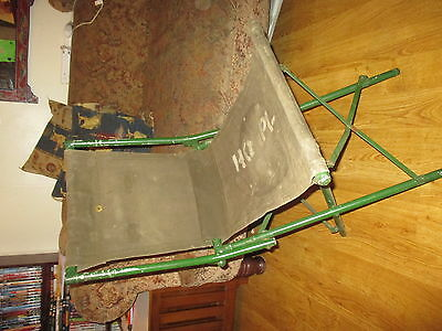 Great British Army folding campaign chair c1950's