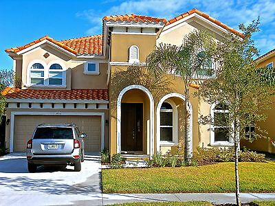 6 Bedroom 5.5 Bathroom Holiday Villa In Florida 20 Mins From Disney