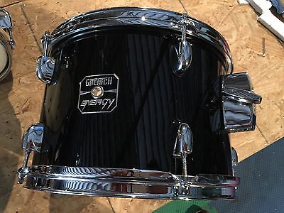 Gretsch Energy 12 X 8 Tom Black With Chrome