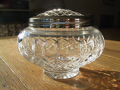 Beautiful Stuart Crystal Rose Bowl