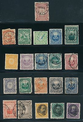1862 - 1921 Peru (87) EARLY ISSUES; MH & USED; AS SHOWN; CV $68