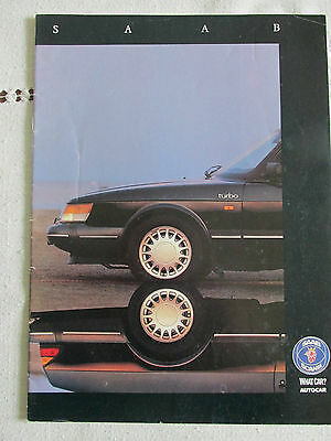 1991 Saab Supplement (40Th Anniversary) From What Car And Autocar