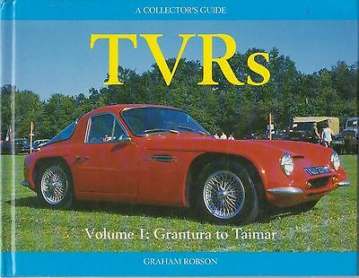 Tvr Grantura Vixen Griffith Tuscan & Taimar Design & Production History Book New