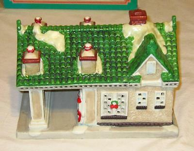 Texaco Town Filling Station- Limited Edition Christmas Porcelain